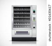 realistic modern vending...