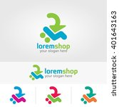 vector logo design template... | Shutterstock .eps vector #401643163