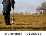 funeral director  undertaker ... | Shutterstock . vector #401680393