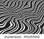 optical art opart striped wavy... | Shutterstock .eps vector #401695663