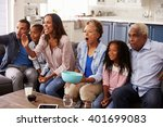 Multi Generation Black Family...