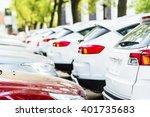 cars in parking lot | Shutterstock . vector #401735683
