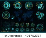abstract future  concept vector ... | Shutterstock .eps vector #401762317