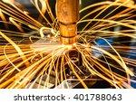 industrial welding automotive... | Shutterstock . vector #401788063