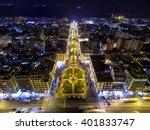aerial view of aristotelous... | Shutterstock . vector #401833747
