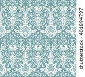ornamental seamless pattern.... | Shutterstock .eps vector #401894797