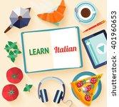 flat design web banner for... | Shutterstock .eps vector #401960653