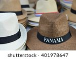 hats are sold as souvenirs in... | Shutterstock . vector #401978647