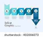 business info graphic design | Shutterstock .eps vector #402006073