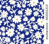 flower illustration pattern | Shutterstock .eps vector #402031213