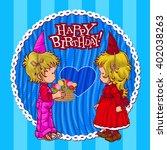 happy birthday | Shutterstock .eps vector #402038263