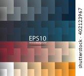 geometric texture. vector... | Shutterstock .eps vector #402123967