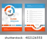 vector modern brochure ... | Shutterstock .eps vector #402126553