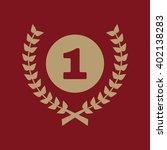 the award icon. wreath symbol....   Shutterstock .eps vector #402138283