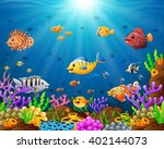 under the sea | Shutterstock .eps vector #402144073