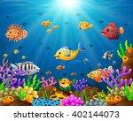 under the sea | Shutterstock .eps vector #402144073