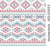 seamless pattern with abstract... | Shutterstock .eps vector #402153013