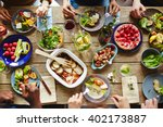 spring nosh up | Shutterstock . vector #402173887