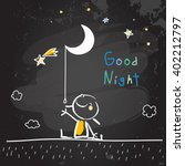 Good Night Vector Illustration...