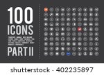 large universal icon set for... | Shutterstock .eps vector #402235897