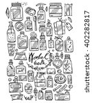 vector hand draw icons set of ...   Shutterstock .eps vector #402282817