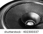 part of black old car audio...   Shutterstock . vector #402300337