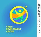 vector logo child development... | Shutterstock .eps vector #402302137