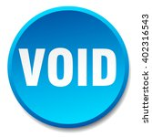 void blue round flat isolated... | Shutterstock .eps vector #402316543