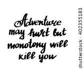 conceptual handdrawn phrase... | Shutterstock .eps vector #402355183
