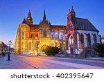st. michael chapel and st....   Shutterstock . vector #402395647