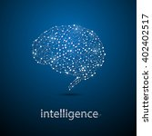 abstract brain technology... | Shutterstock .eps vector #402402517