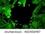 abstract 3d rendering of... | Shutterstock . vector #402406987