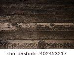 grey old planks background  ...   Shutterstock . vector #402453217