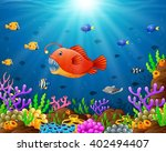 illustration of under the sea | Shutterstock . vector #402494407