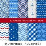 Ten Marine Different Seamless...