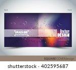 square cover design template ...   Shutterstock .eps vector #402595687