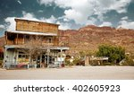 old west general store in the... | Shutterstock . vector #402605923