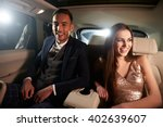 attractive young couple... | Shutterstock . vector #402639607