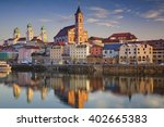 passau. passau skyline during... | Shutterstock . vector #402665383