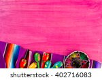traditional colorful table... | Shutterstock . vector #402716083
