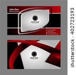 business card template   | Shutterstock .eps vector #402723193