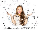 people  holidays  emotion and... | Shutterstock . vector #402753157