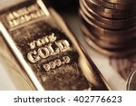 gold bar concept | Shutterstock . vector #402776623