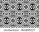 vector. ethnic abstract... | Shutterstock .eps vector #402809227