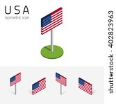 american flag  united states of ... | Shutterstock .eps vector #402823963