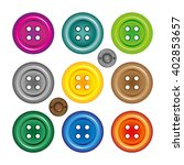 bright colors buttons on white... | Shutterstock . vector #402853657