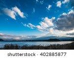 Japan Landscape With Mount Fuj...