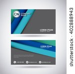 presentation card design  | Shutterstock .eps vector #402888943