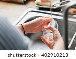 house work close up image of... | Shutterstock . vector #402910213