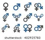 sexual relation symbols raster... | Shutterstock . vector #402925783